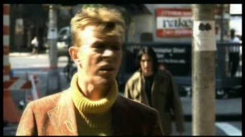 David Bowie Trent Reznor 'I'm Afraid Of Americans'.
