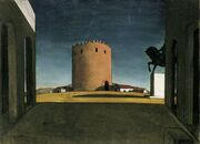 De-chirico-the red tower-1913