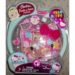 90280404-260x260-0-0 Mattel Barbie Peek Boo Petites Hello Kitty Karissa