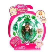 90152076-260x260-0-0 Mattel Barbie Peek A Boo Petites Edeline Emerald 1