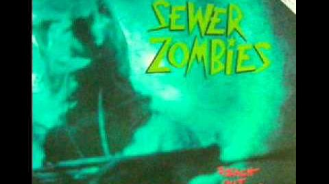 SEWER ZOMBIES - They died with their willie Nelson T- Shirts on