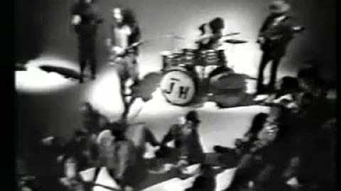 Jethro Tull - Song for Jeffery - French TV 1969