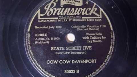 STATE STREET JIVE (COW COW DAVENPORT)