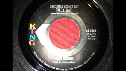 AMOS MILBURN...CHRISTMAS TIME..