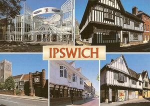 Ipswich postcard