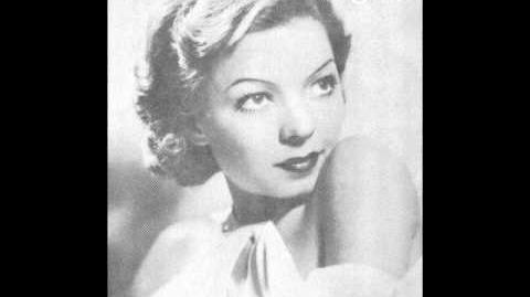 ONCE IN A WHILE ~ Frances Langford 1937