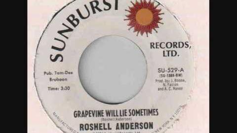 Roshell Anderson - Grapevine Will Lie Sometimes