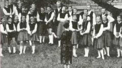 The Obernkirchen Children's Choir 'The Happy Wanderer' 78 RPM