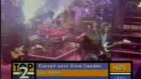 Europe - The Final Countdown Live TOTP