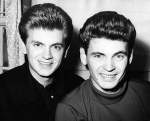 The Everly Brothers Getty Charlie Gillett Collection circa 1950