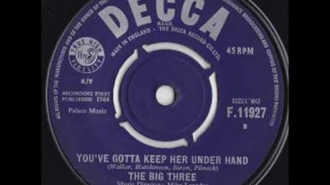 The Big Three - You've Gotta Keep Her Under Hand (Remember Liverpool Beat 67)