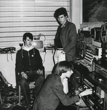 Vice Versa in studio