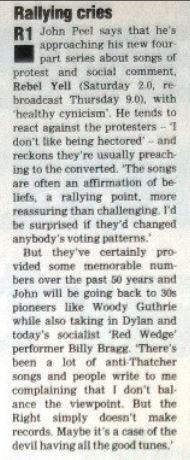 Rebel Yell in RT 1987-03-07-0