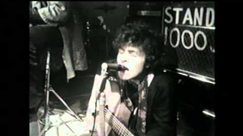 """ tyrannosaurus rex "" - live middle earth - 1967."