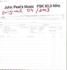 John Peel-FSK-DAT-03-09