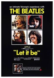 Let It Be (1970 film) cover