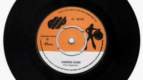 (1975) The Upsetters Key Card Domino Game (Custom Disco)