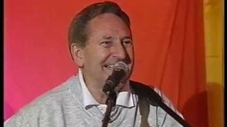 John Peel and Lonnie Donnegan Glastonbury 1999