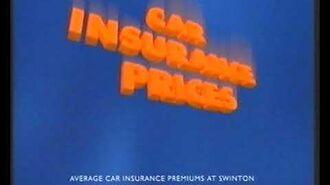 Swinton car insurance 1995 TV advert John Peel