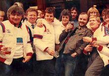 JP at The Nutshell pub Bury St Edmunds 1984