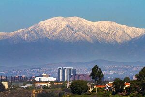 San Bernardino California Skyline