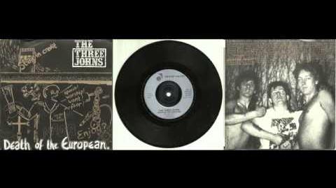 The Three Johns - Death Of The European - AUDIO Punk Vinyl