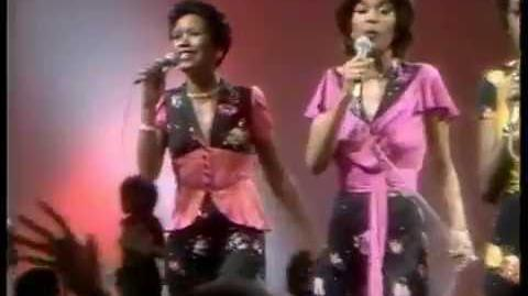 """The Pointer Sisters 🎆 """"Going Down Slowly"""" Soul Train October 4, 1975"""