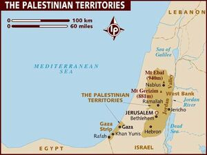 Map of the-palestinian-territories