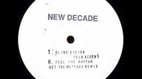 New Decade -- Blind Vision ( 70lb Accent ) 1993