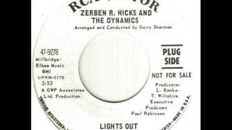 Zerben R Hicks And The Dynamics Lights Out