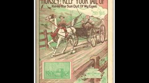 Melville Gideon - Horsey Keep Your Tail Up