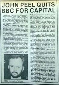 Record Mirror 1981-01-03 Peel quits Radio 1 for Capital