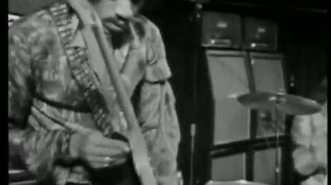The Jimi Hendrix Experience - Red House (Live at Stockholm,Sweden 1969)