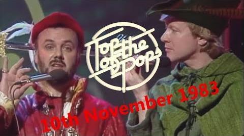 Top of the Pops Chart Rundown - 10th November 1983 (David Jensen & John Peel)
