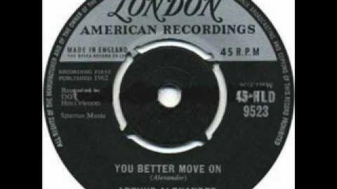 """Arthur Alexander - """"You Better Move On"""" - Stereo HQ"""