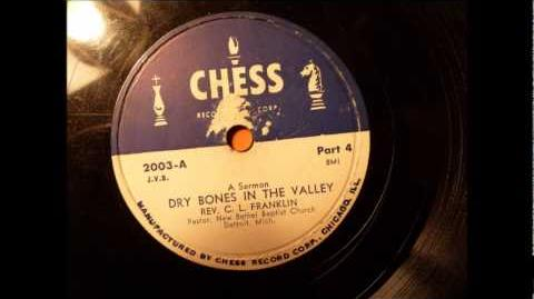 Dry Bones In The Valley, a Sermon by Rev. C.L