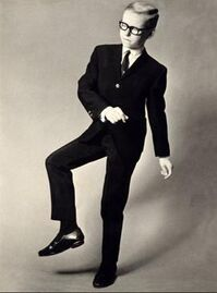 Jeff Dexter promoting The Twist 1962