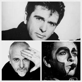 Peter Gabriel collage