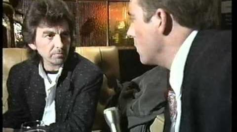 George Harrison on the Jonathan Ross Show