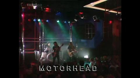 Motörhead - Iron Fist Top Of The Pops Performance (01-04-1982)