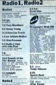 Radio One Club 1973-01-10 detail