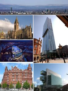 Montage of Manchester 2012