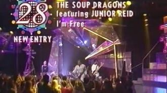 The Soup Dragons (ft Junior Reid) I'm Free (HQ Audio)