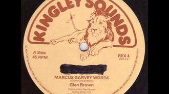 Glen Brown - Marcus Garvey Words (Kingley Sounds)