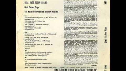 Chris Barber's JB Monty Sunshine 1955 Wild cat blues