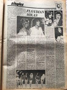 Singles Review 07 June 1975