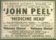 Peel presents Medicine Head