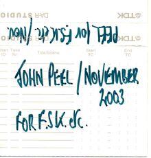 John Peel-FSK-DAT-03-11