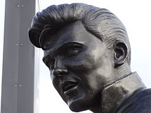 220px-Billy Fury statue - face