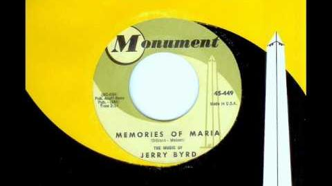 Jerry Byrd - MEMORIES OF MARIA (Roy Orbison) (1961)